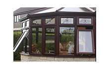 Low Level Vents in Woodgrain Conservatory Extras