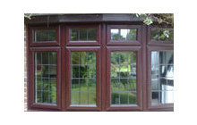 Dummy Sashes in Woodgrain Conservatory Extras